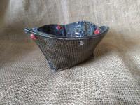 Small folded bowl