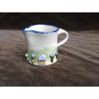Straight cream jug